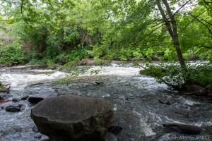 Duncan Creek Rapids - View at water level