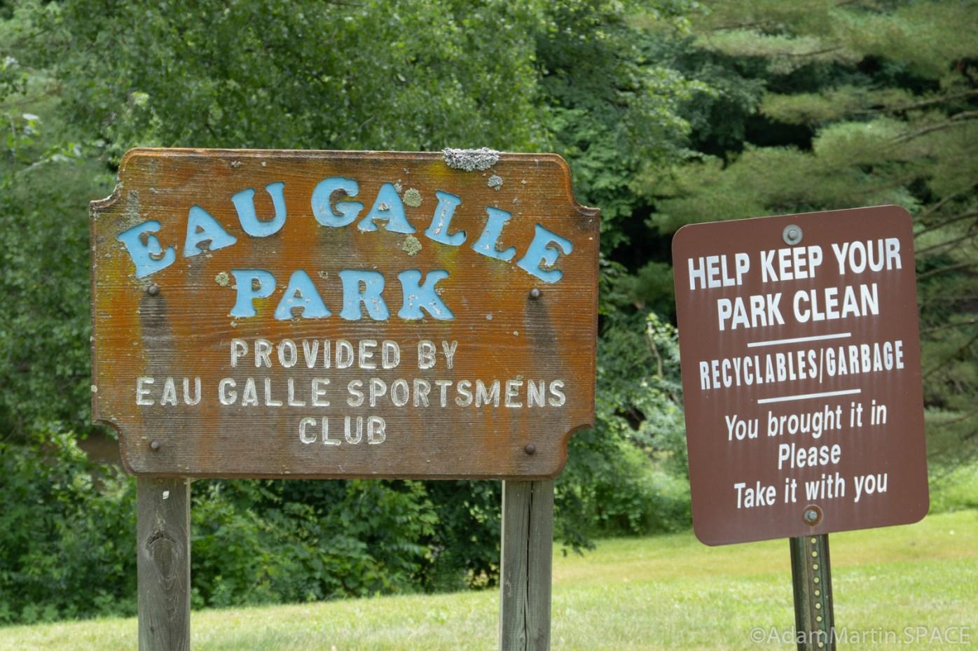 Eau Galle Spillway