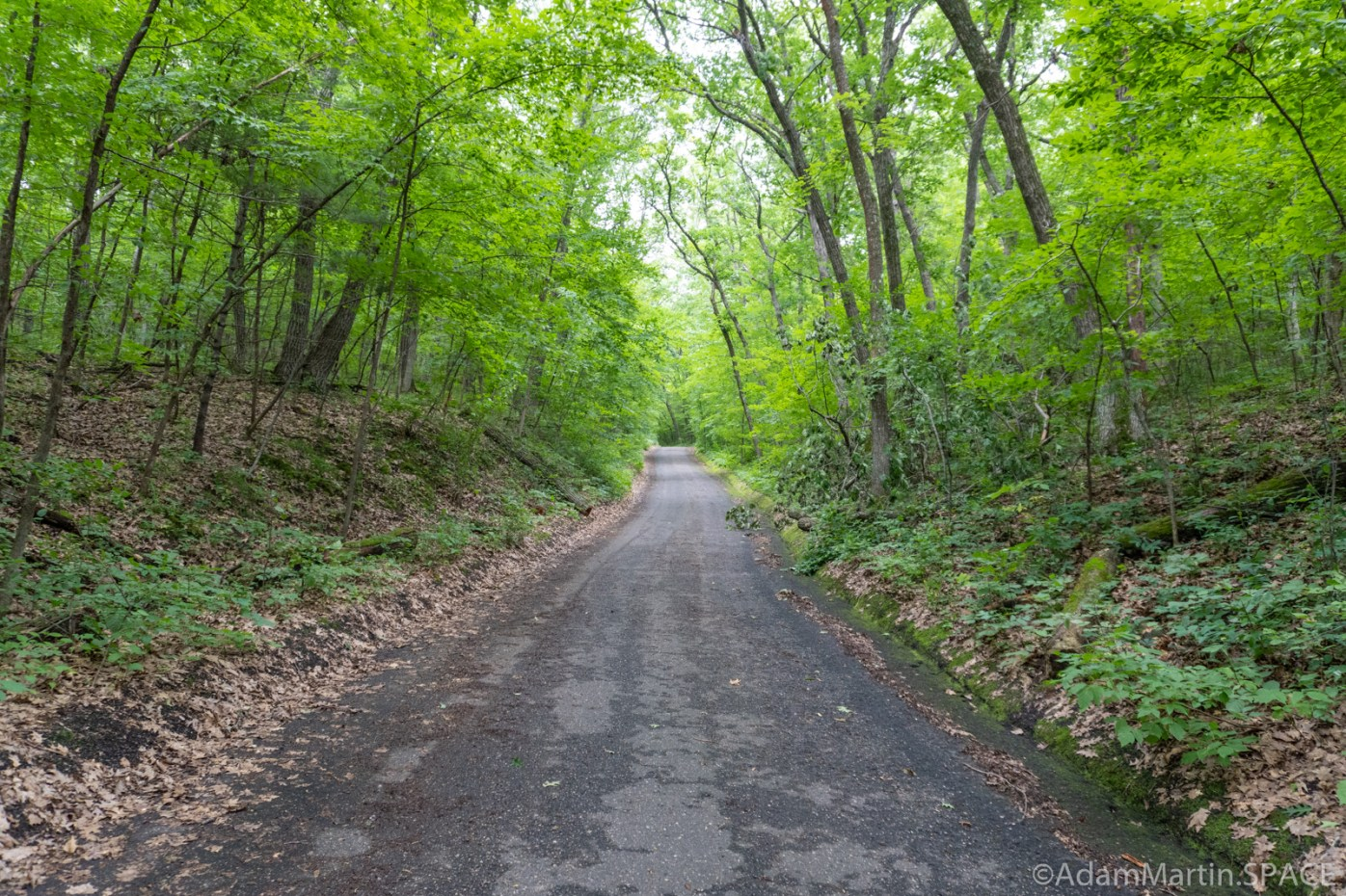 Kinnikinnic State Park – Hiking back up the steep Black Trail