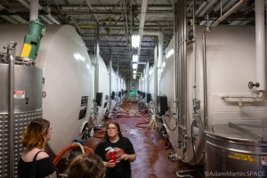 Leinenkugels Brewery - Fermentation & Cooling tanks