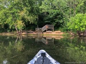 Merrick State Park - High waters