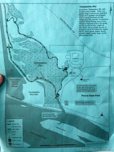 Perrot State Park - Map for the Voyageurs Canoe Trail
