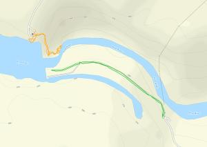 GaiaGPS hiking data @ Breakwater Falls