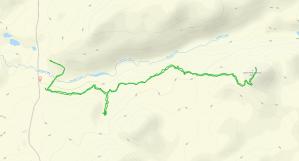 GaiaGPS hiking data @ Morgan Falls & St Peter's Dome