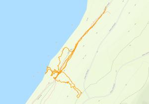 GaiaGPS hiking data @ High Cliff State Park - Lime Kiln Falls