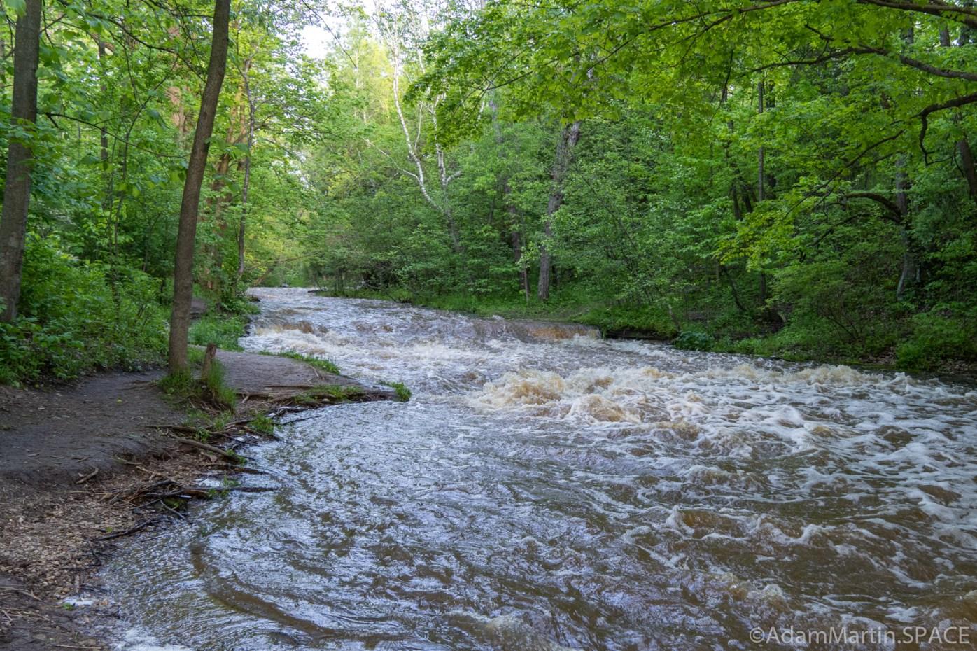 Baird Creek - Smaller downstream falls