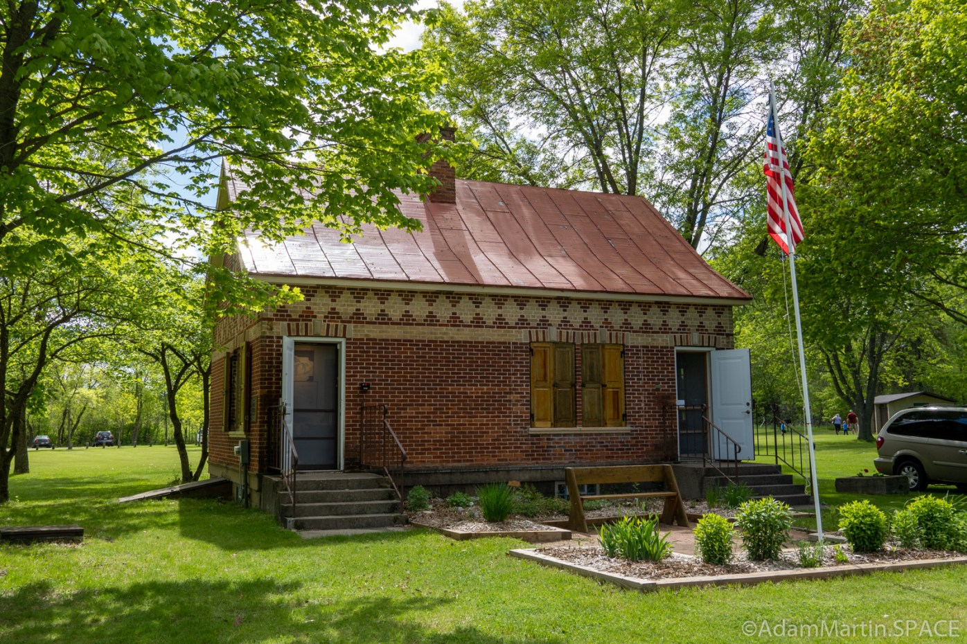 Copper Culture State Park - Farmhouse educational center