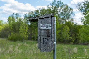 Copper Culture State Park - Bluebird Research Project bird house