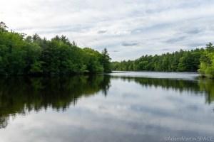 Keller Lake Falls - Moody reflections across Keller Lake