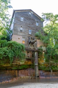 Douglas Creek - Backside of Melrose Farm Service, Inc. that looks like an old mill