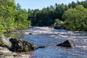 Black River Falls - Hwy K Rapids - Looking upstream, slightly zoomed
