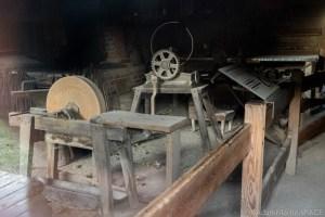 Herbert Hoover National Historic Site - Tools inside Jesse Hoover's Blacksmith Shop