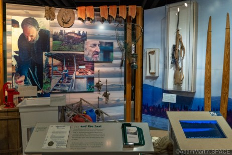 """Homestead National Historical Park - """"...and The Last"""" display"""