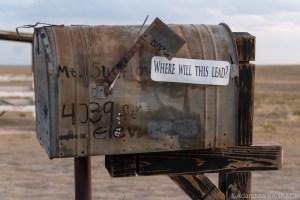Mount Sunflower - Mailbox Containing Log Book