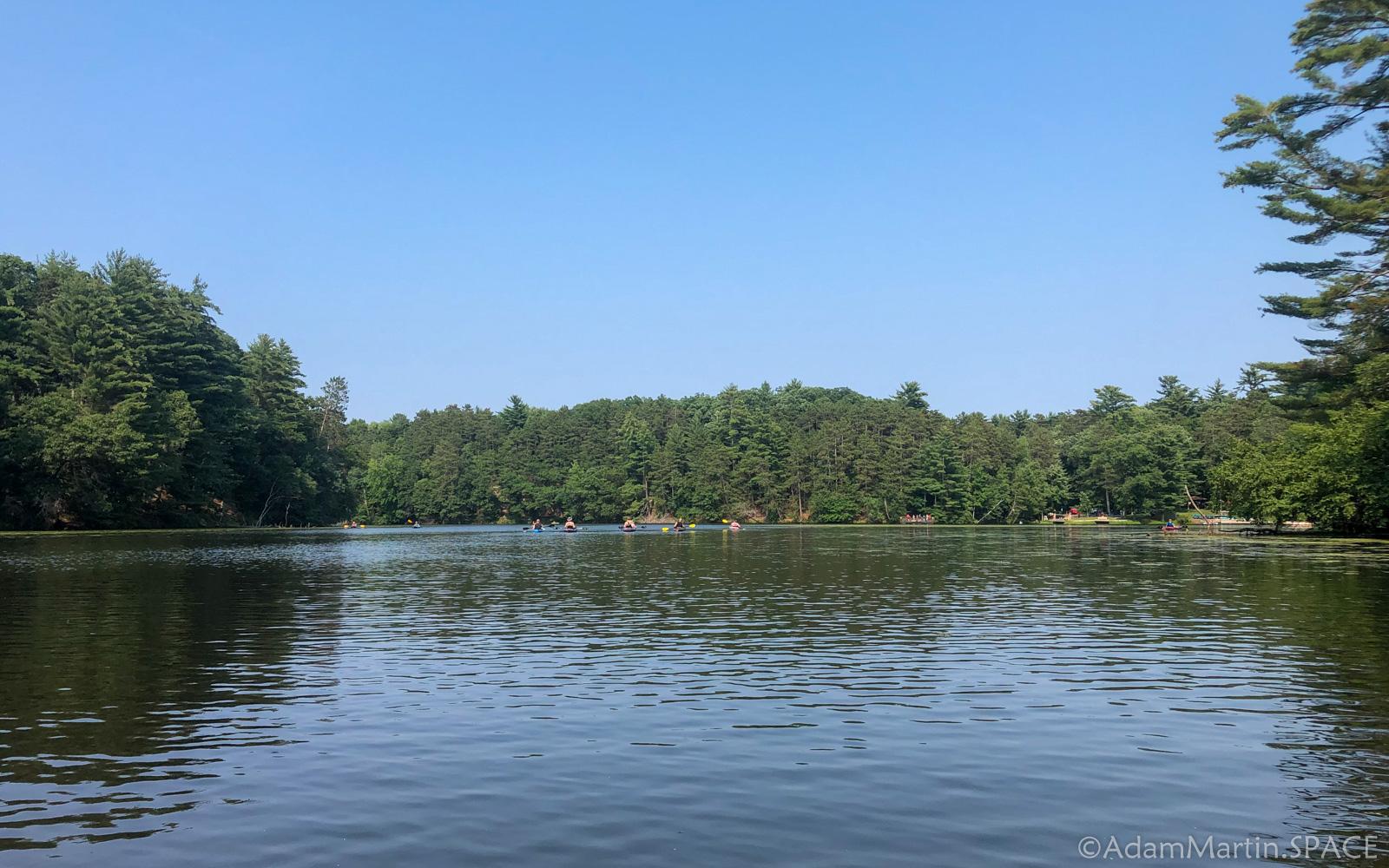 Kayaking at Mirror Lake State Park