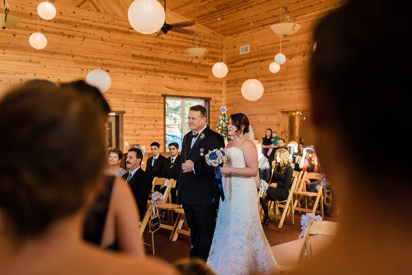 father and bride at Barn at Klines Mill wedding by Washington DC Wedding Photographer Adam Mason
