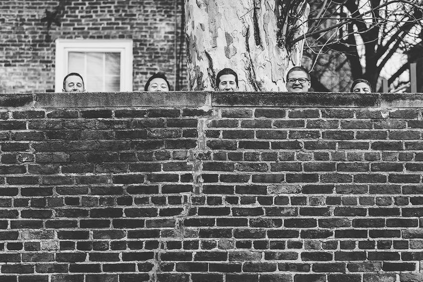 funny groomsmen photos by Washington DC Wedding Photographer Adam Mason