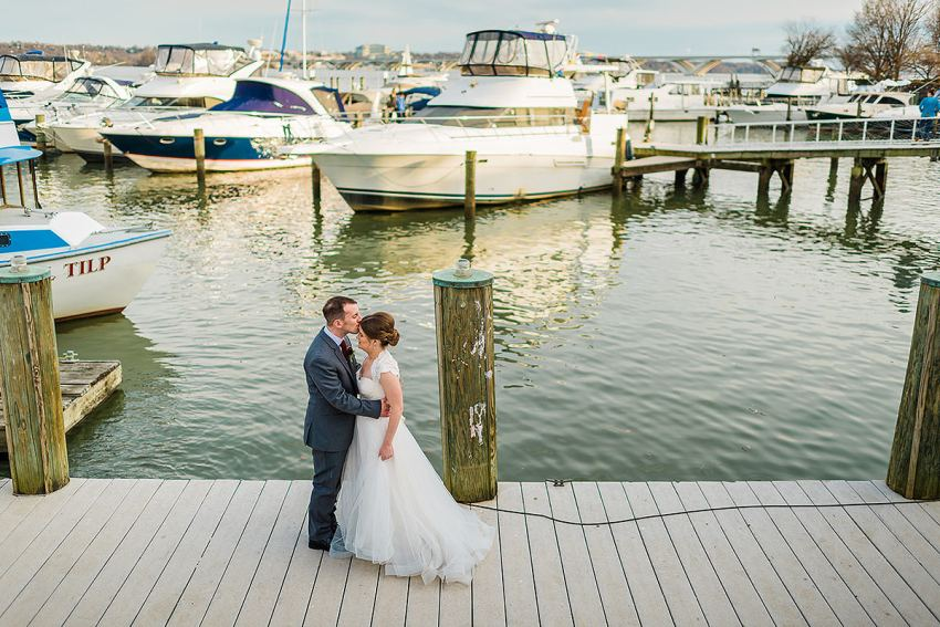 Old Town Alexandria waterfront wedding by Washington DC Wedding Photographer Adam Mason