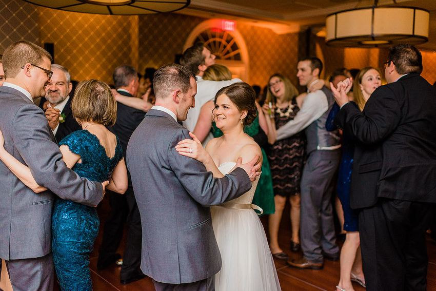 wedding reception in old town alexandria by Washington DC Wedding Photographer Adam Mason