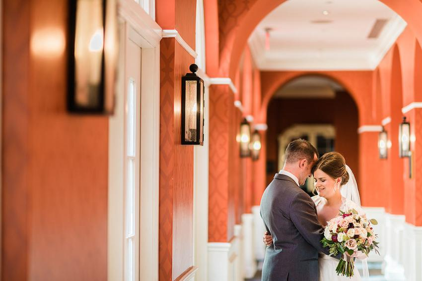 Wedding couple photo at Alexandrian Hotel, Autograph Collection by Washington DC Wedding Photographer Adam Mason