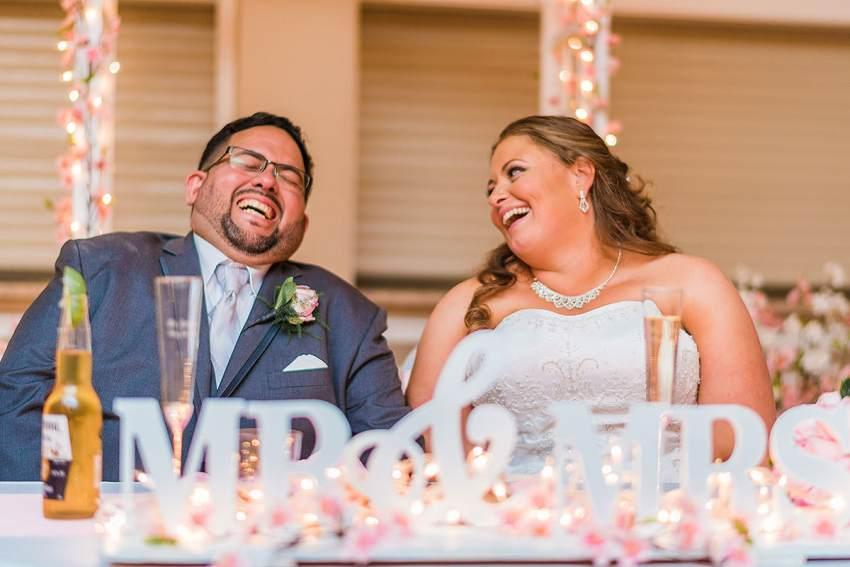 sweetheart table decorations by Washington DC Wedding Photographer Adam Mason
