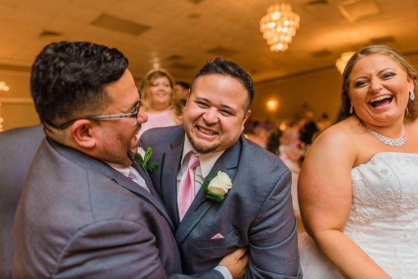 fun dancing at Washington DC Wedding Photographer Adam Mason