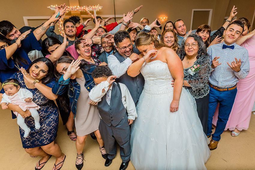 dabbing at wedding by Washington DC Wedding Photographer Adam Mason