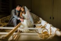 Indian River Life Saving Station Wedding by Washington DC Wedding Photographer Adam Mason