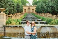 meridian hill park engagement session in Washington DC by Washington DC Wedding Photographer Adam Mason