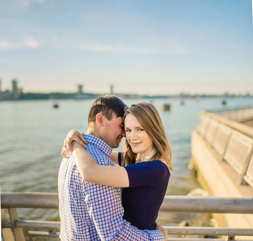 upper west side engagement photos by Washington DC Wedding Photographer Adam Mason