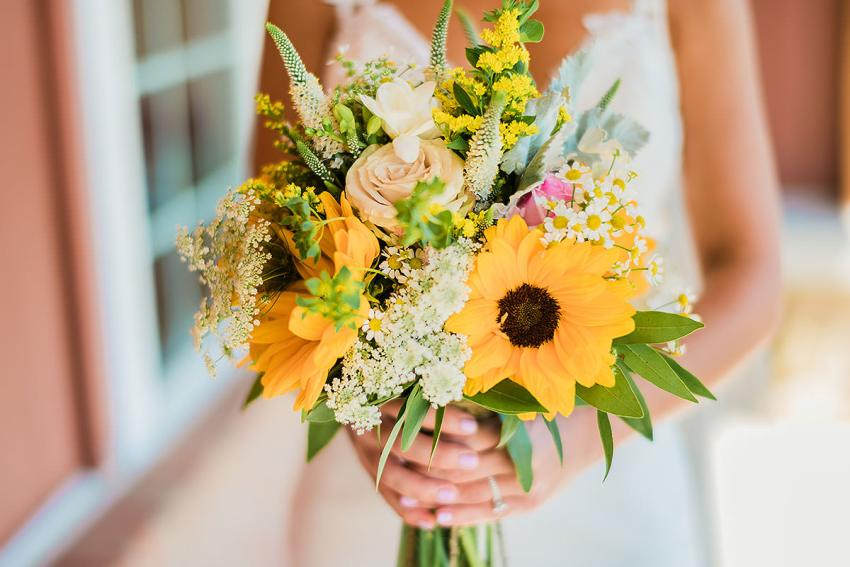 fosters flower shop flowers at wyndridge farm wedding by Washington DC Wedding Photographer Adam Mason