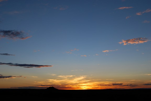 unreal sunset
