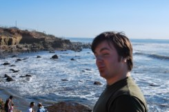 Dave Luke at the Tide Pools