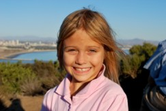 Megan at Cabrillo
