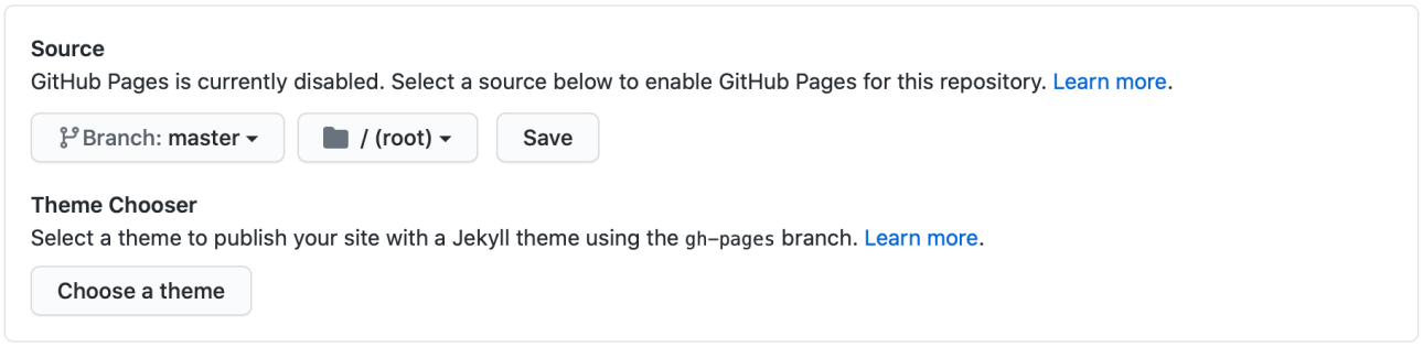 Jekyll Github Pages
