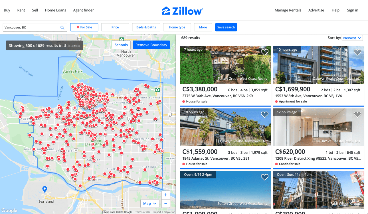 GIS Proptech Zillow