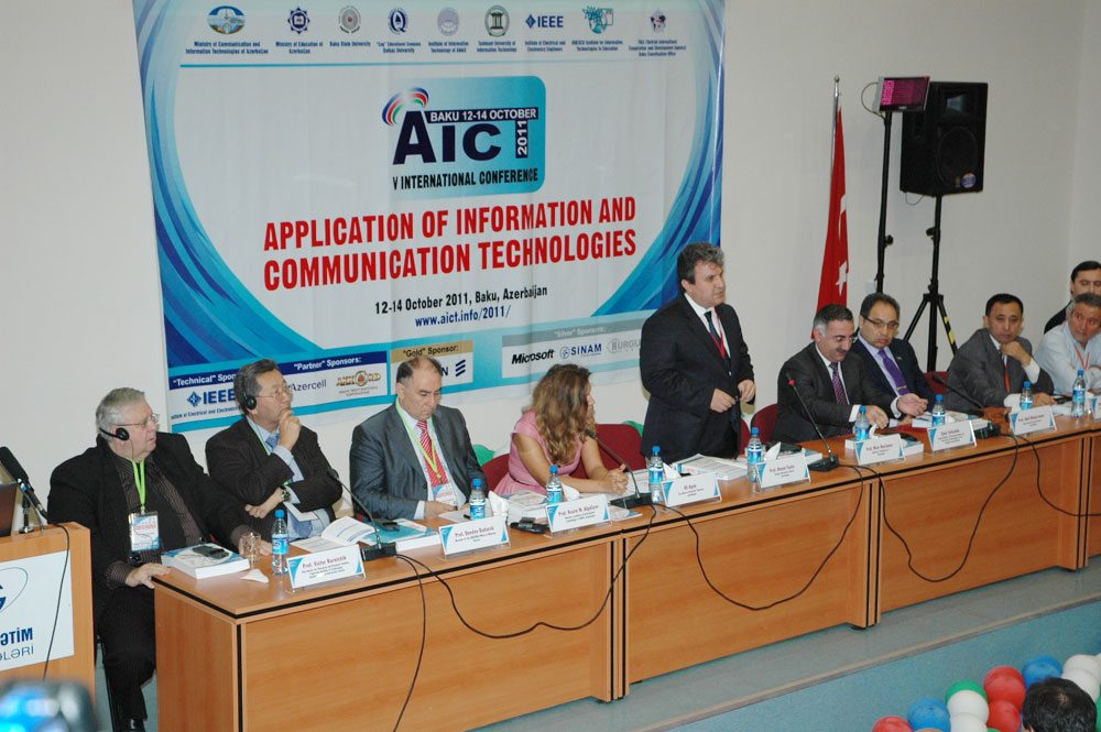 AICT2011 International Conference Opening Ceremony