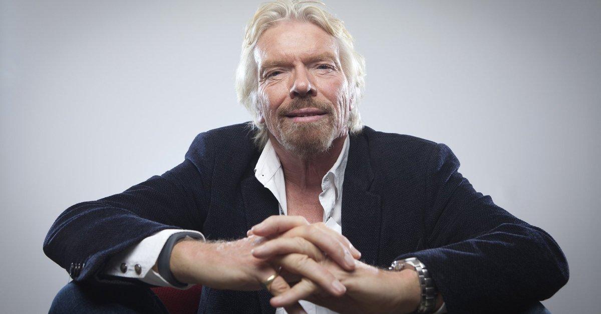 5 cytatów Richarda Bransona, które pokazują, jak być liderem