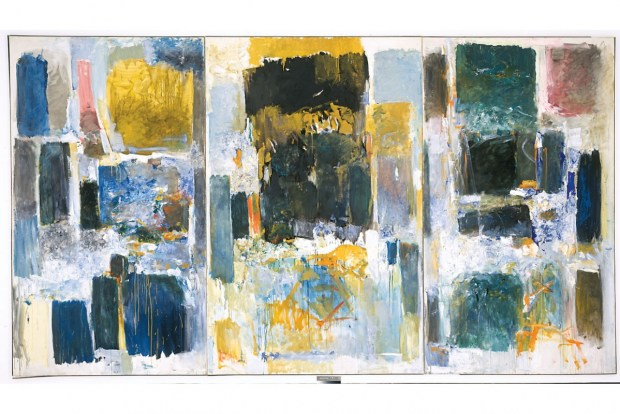 ©ESTATE OF JOAN MITCHELL, UNIVERSITY OF BUFFALO ART GALLERIES, GIFT OF REBECCA ANDERSON