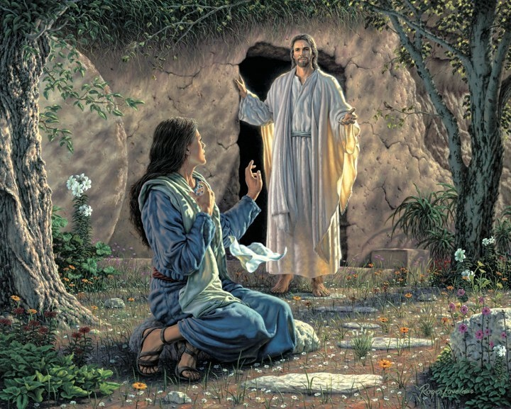 Jezus-Maria-Magdalena-Verrijzenis