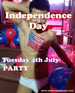 03.07.2017 Happy 4th July Independence Day Adams Apple Club