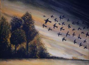 L_Birds in Flight
