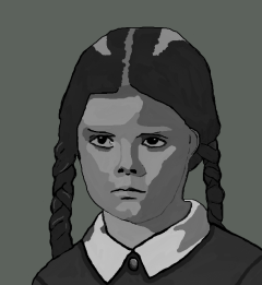 Wednesday Addams-background-2013-08-14