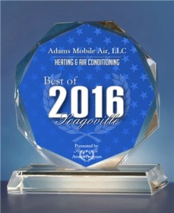 Seagoville Award Plaque