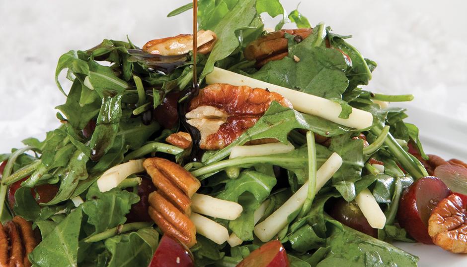 Adams Reserve Cheddar Grape Pecan Salad