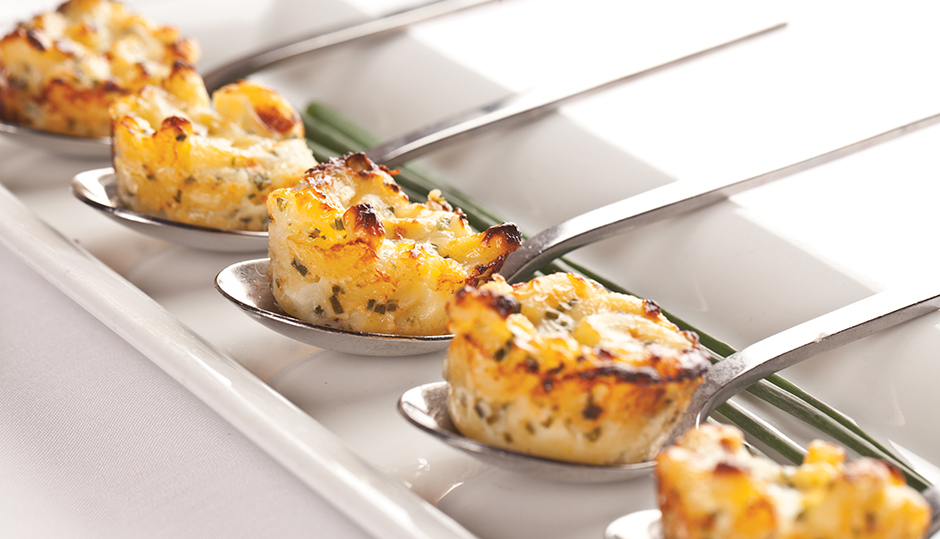 Adams Reserve Mac and Cheese bites