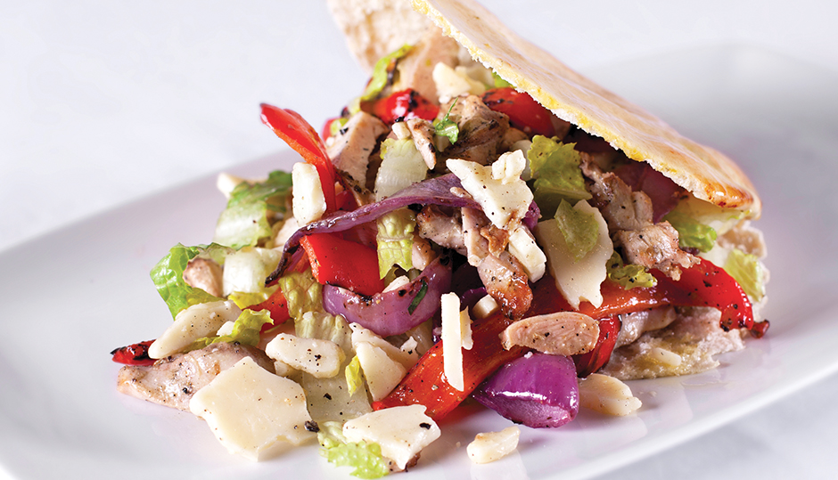 Adams Reserve Chicken Salad Pita