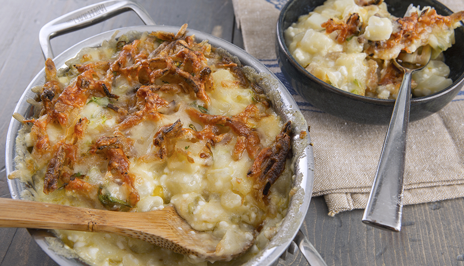 Adams Reserve Cheddar Potato Casserole