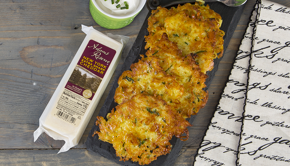 Adams Reserve Cheddar Potato Latkes