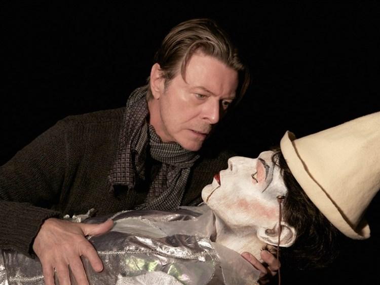 Bowie Love Is Lost Pierrot  Puppet